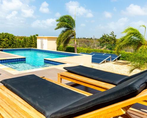 Vila Para Blou - Bonaire - Zwembad
