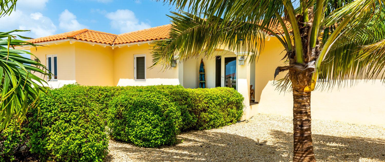 Para Blou Bonaire - Voorzijde villa